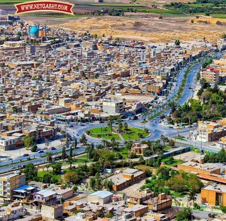 عکس زیبایی از شهر قصر شیرین، قبل از زلزله 7.3 ریشتری کرمانشاه