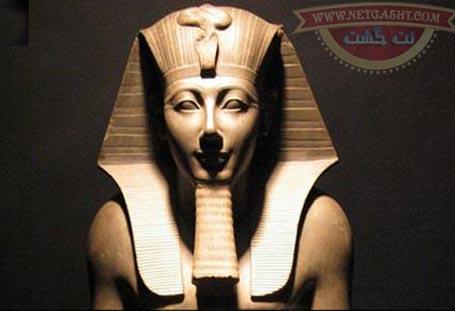مجسمه فرعون مصر کشف شده در منزل بقایی به حراج گذاشته شد + عکس