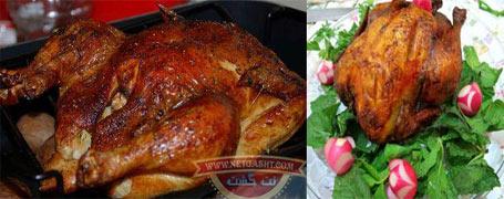 طرز تهیه، پخت و طبخ مرغ شکم پر