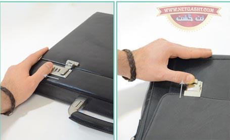 روش تغییر رمز قفل چمدان مسافرتی یا کیف چرمی + فیلم