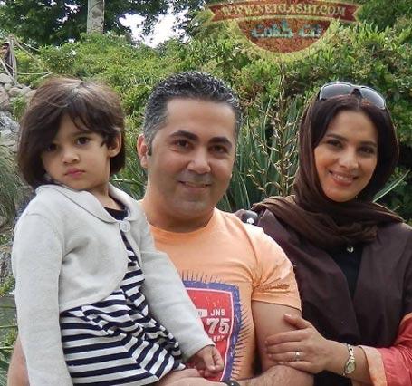 روشنك عجميان و همسرش