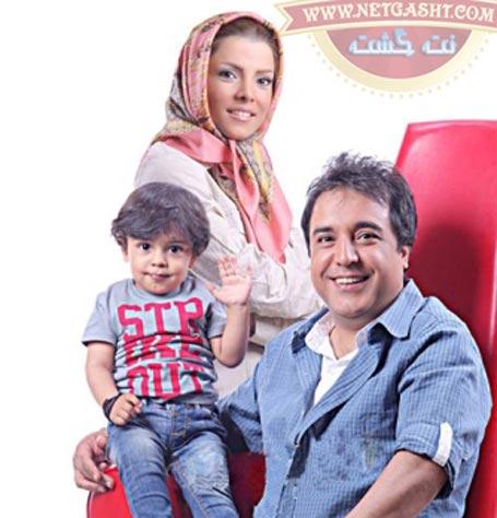 بهزاد محمدی و همسرش