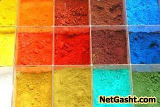 آشنایی با رنگ های سنتی ایران