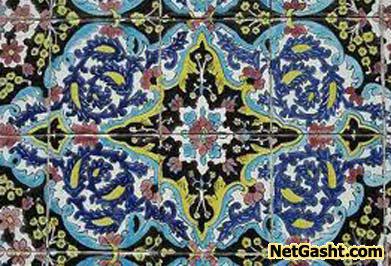تاریخچه هنر زیبای کاشیکاری در ایران