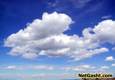 دلیل سفید دیده شدن ابرها در آسمان