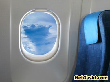 چرا پنجره های هواپیما دایره ای شکل است؟