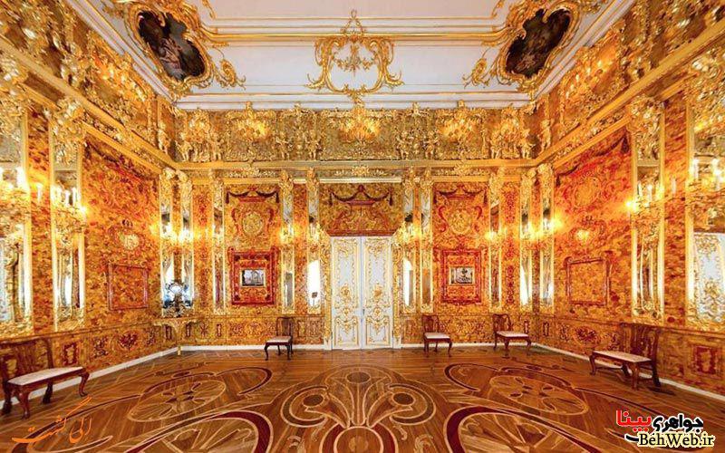 هفت گنج بزرگ دنیا که دیگر اثری از آنها نیست - اتاق کهربا (1)